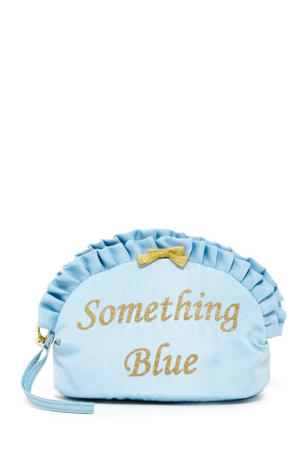 Item - Blue Perfect Brides Shower Something Ruffle Cosmetic Bag Other
