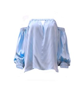 MILLY Top sky blue