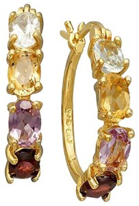 Victoria Townsend Victoria Townsend 18k Gold over Sterling Silver Earrings, Multistone