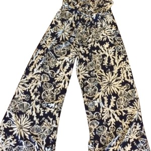 Lilly Pulitzer Flare Pants true navy