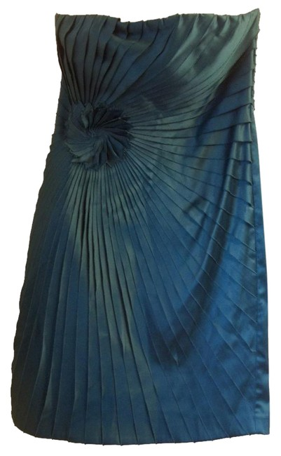 Item - Dark Turquoise Green Rn#80780 Md#2482 Short Cocktail Dress Size 4 (S)