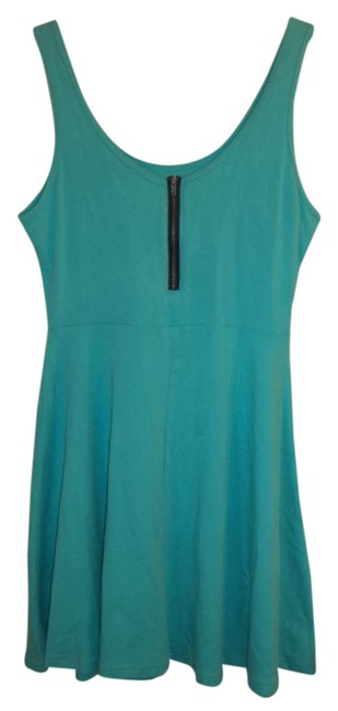 Item - Turquoise Green Rn#55285 Short Casual Dress Size 8 (M)