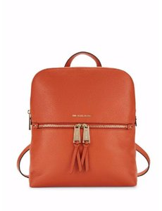 Michael Kors Mercer Studio Leather Satchel Rhea Zip Backpack