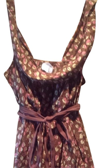 Preload https://item2.tradesy.com/images/anthropologie-brown-pink-cream-tank-topcami-size-12-l-2151226-0-0.jpg?width=400&height=650