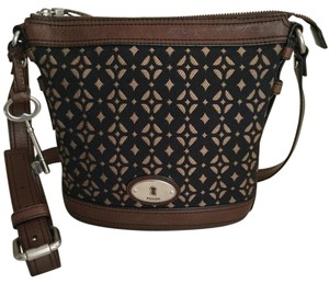 Fossil Crossbody And Tapestry Bucket Hobo Bag