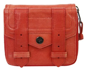 Proenza Schouler Leather Wallet Detail Red Clutch