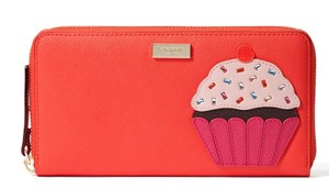 Kate Spade Kate Spade Take The Cake Cupcake Neda Multi Continental Zip Wallet