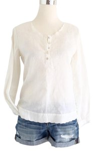 J. Peterman Top White