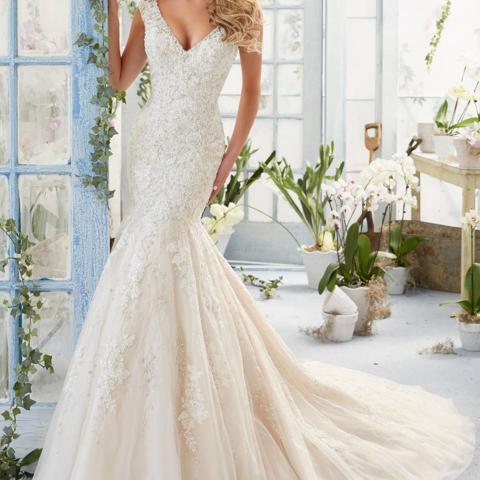 Mori lee 2816 wedding dress on sale 37 off wedding for Mori lee wedding dress sale