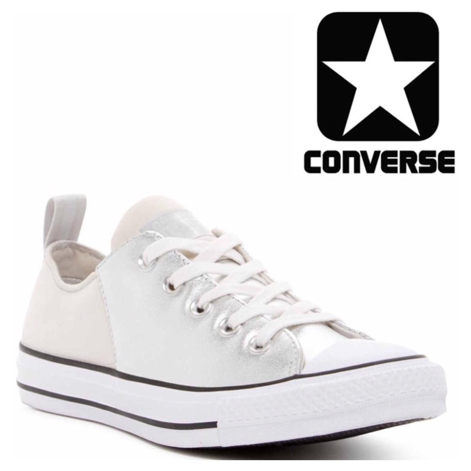 Converse Mouse Black White Oxfords Leather Sneakers Low Tops Oxfords White Sneakers de6a77