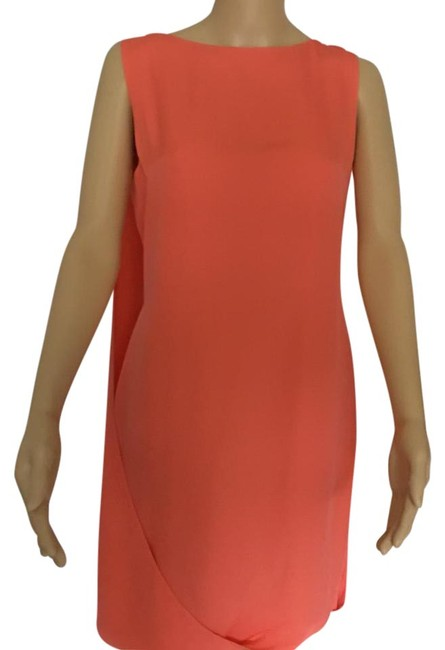 Item - Orange Short Cocktail Dress Size 4 (S)