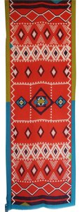 Etro NEW! Etro Milano Scarf Made in Italy Geometric Wool Silk Multicolor