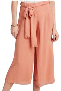 Free People Wide Leg Pants orange