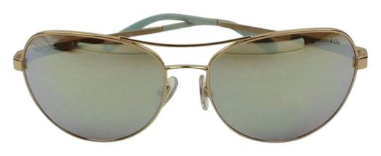 cb206e9bb19c tiffany   co gold mirrorred lenses multi color tf 3051 b 6105 64 aviator  sunglasses