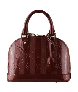 60adf7456f25 Louis Vuitton Alma Monogram Vernis Bags - Up to 70% off at Tradesy