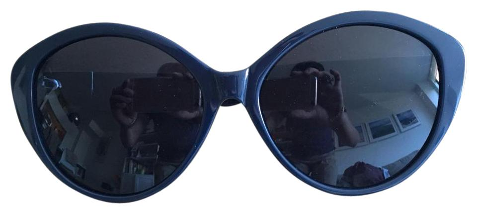 fbed7ecaead4 The Row Dark Blue X Linda Farrow Sunglasses - Tradesy