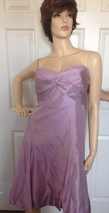 Vera Wang Lavender Bridesmaid Dress