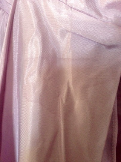 Vera Wang Lavender Taffeta Silk Formal Bridesmaid/Mob Dress Size 12 (L)