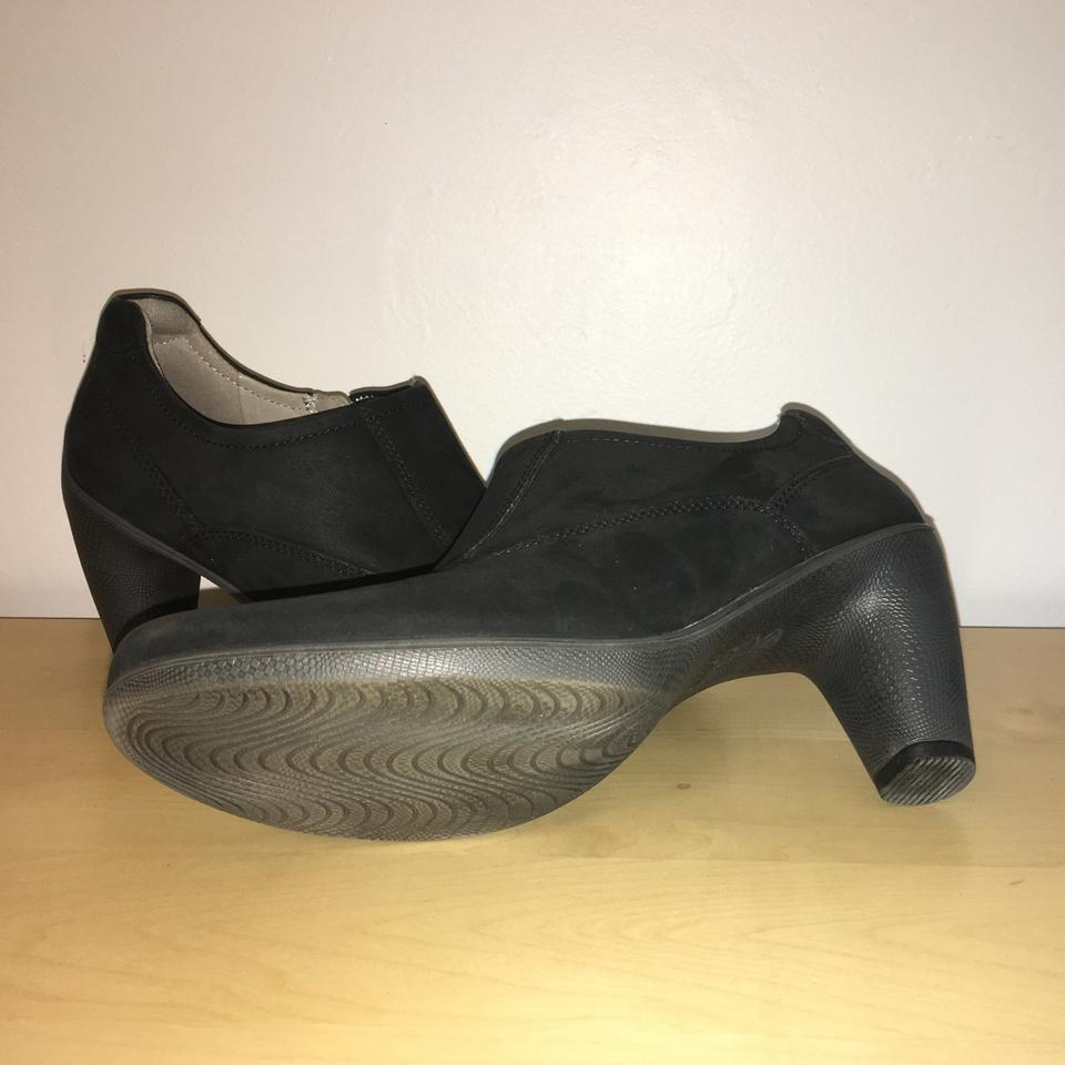 14768b661f18f Ecco Black Sculptured 65 Euro Low Cut Ankle Boots Booties Size US 8 Regular  (M