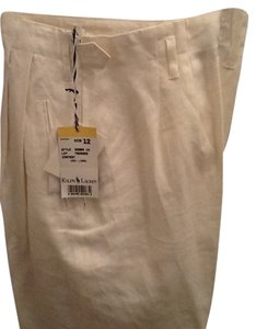 Ralph Lauren Relaxed Pants white