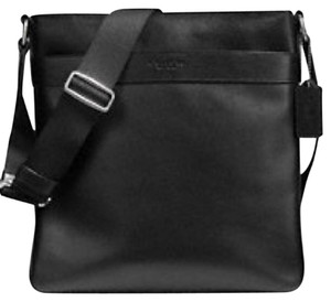 Coach New With Tags Men's Black Messenger Bag