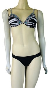 Gossip NWT GOSSIP Collection Black Underwire Bra Top Bikini Jnr Small Swimsuit $79