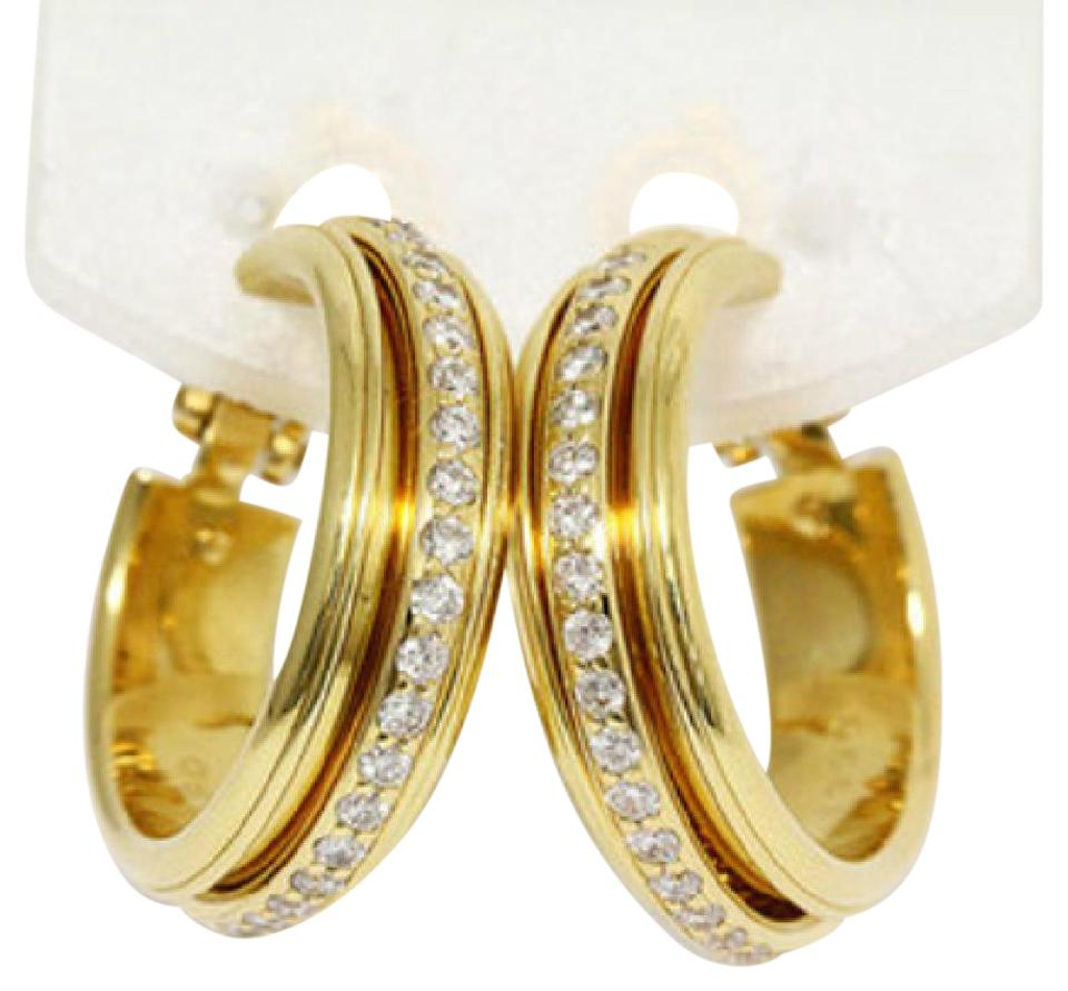 gold drop halo white earrings diamond