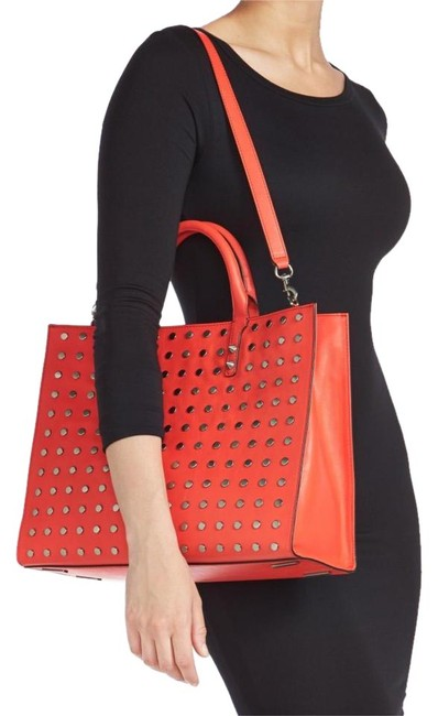 Item - With Tags Grayson Red Leather Tote