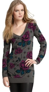 Betsey Johnson Spider Rose Sweater