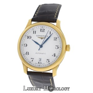 Longines New Men's Longines Master Collection L26286783 Automatic 18K Gold