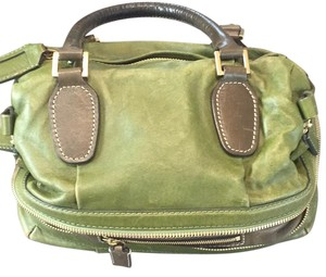 Chloé Satchel in green