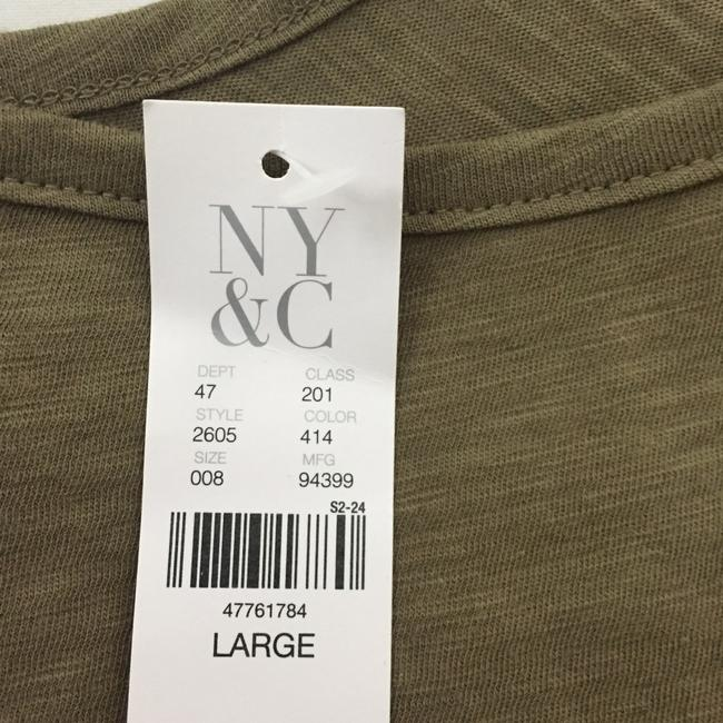 New York & Company Top olive green Image 2