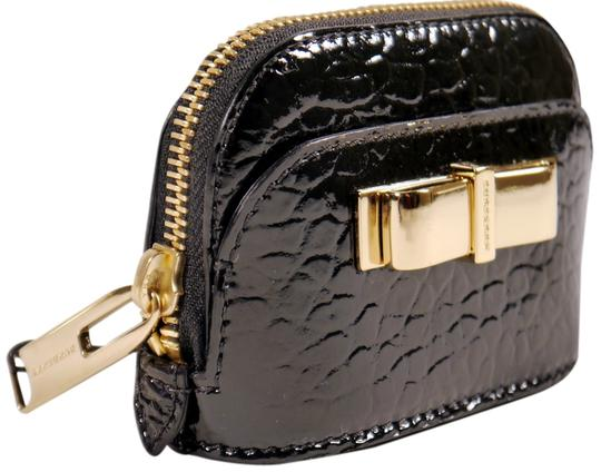 Burberry BURBERRY 'Harrogate' Patent Leather Coin Purse: MSRP $290
