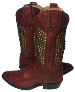 Frye 77586 Billy Cowgirl 8.5 Cowgirl 8.5 Western 8.5 Red Boots