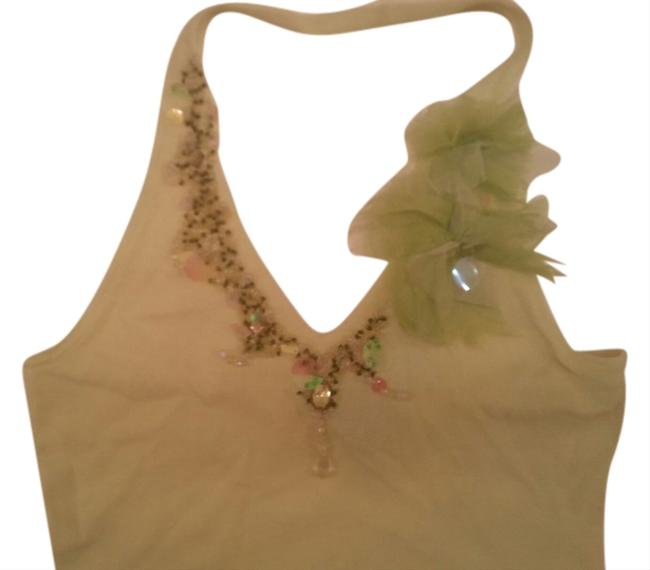 Other Lime Halter Top