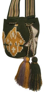 Wayuu Tribe Boho Handwoven Mochila Cross Body Bag