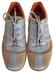 Ecco Tan and light blue Athletic