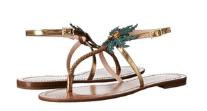 Kate Spade gold Sandals