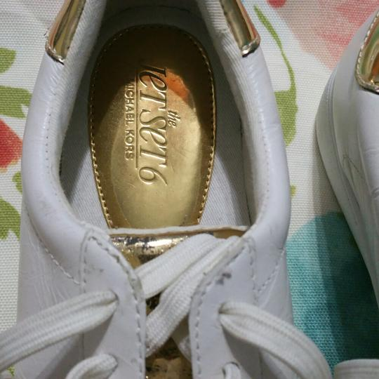Michael Kors White with Gold Athletic Image 2