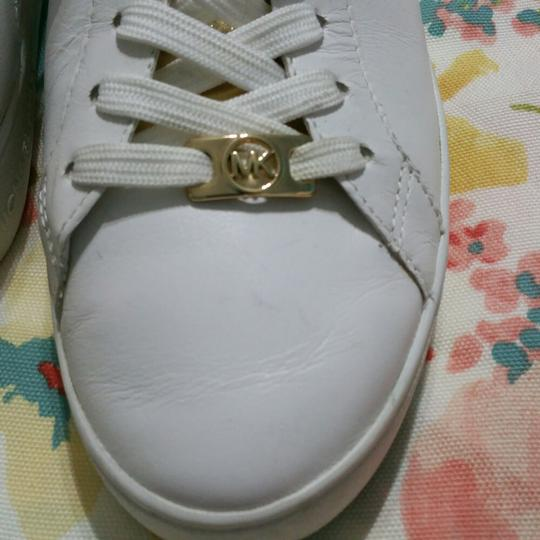 Michael Kors White with Gold Athletic Image 6