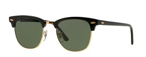 """Ray-Ban Black Ray Ban CLUBMASTER - RB 3016 W0365 """"FREE 3 DAY SHIPPING"""""""