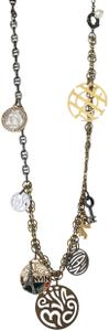 Lanvin NEW! Lanvin-Paris Travel Charm Necklace Eiffel Tower Made in France
