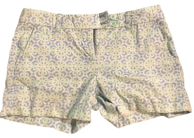 Item - Blue Green Printed Shorts Size 2 (XS, 26)