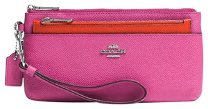 Coach COACH MULTI-FUNCTION WALLET WITH REMOVEABLE POUCH phone wallet (Ship via Priority Mail)