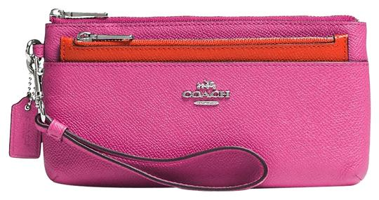 Preload https://item5.tradesy.com/images/coach-silverfuchsia-multi-function-with-removeable-pouch-phone-ship-via-priority-mail-wallet-2152124-0-0.jpg?width=440&height=440