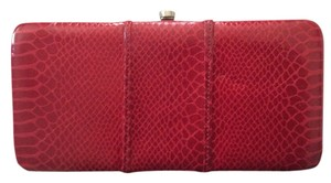 Kate Landry Red Clutch