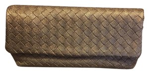 Bottega Veneta Ottone (muted Gold) Clutch