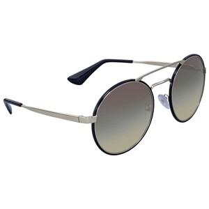 4467edb4639 Prada Prada Round Aviator Grey Gradient Authentic Ladies Sunglasses