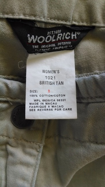 Woolrich Vintage Relaxed Pants British Tan