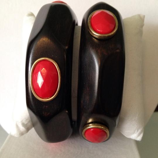 2 B Rych 2-Piece Set NWOT Faceted Red